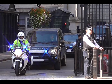 *High Security Escort* - Israel Prime Minister Benjamin Netanyahu in London