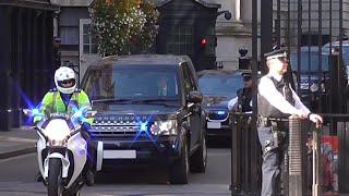 *High Security Escort* - Israel Prime Minister Benjamin Netanyahu in London