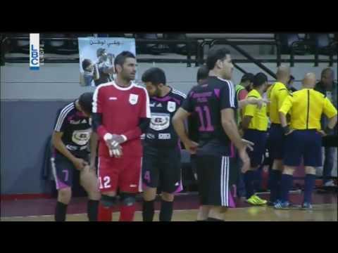 Choueifat vs Bank Of Beirut (championnat du Liban de futsal 16/17)