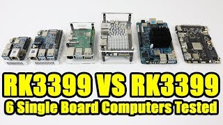 RK3399 SBC Showdown! 6 Single Board Computers Tested Rk3399 VS RK 3399