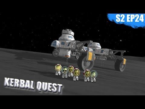 KSP - LARGE MUN ROVER - Kerbal Quest S2 - Part 24
