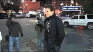Ioan Gruffudd  In a Wrong Cab in Hollywood.