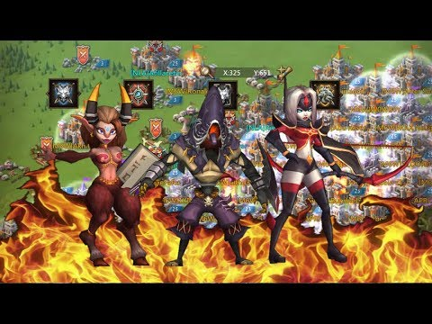 Lords Mobile Revenge Attack Against Overlord Family & Ally Guilds