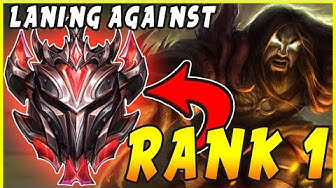 Against THE RANK 1 Player in NEW Ranked SoloQ Tier ➤ GRANDMASTER LEAGUE! [League of Legends]
