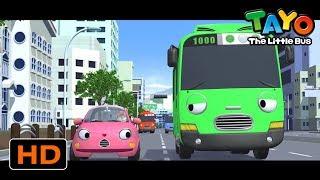 小巴士TAYO l Tayo 第4季 流行的一集 l 不要害羞,振作起來! l 小公交車太友