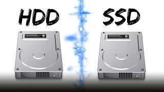 HDD Hard drive VS. SSD Drive!