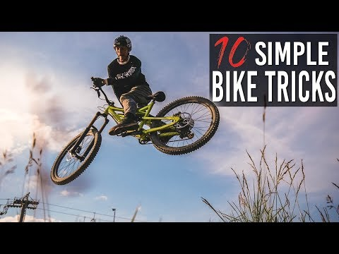 HOW TO: 10 SIMPLE BIKE TRICKS für BEGINNER und FORTGESCHRITTENE (MTB/BMX)