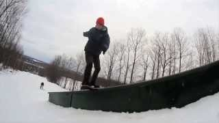 Snowskate raw footy