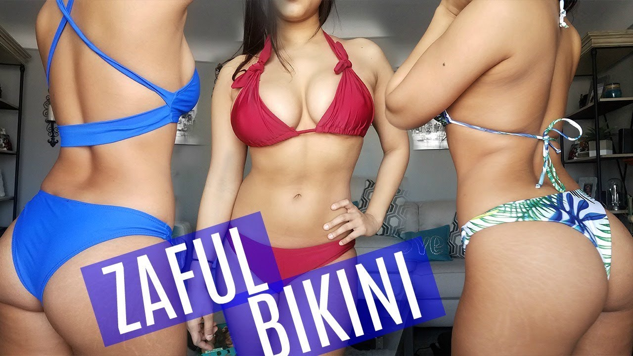 79a774aa3c3 HUGE ZAFUL BIKINI TRY ON HAUL (CURVY EDITION) - HONEST REVIEW 2018 ...