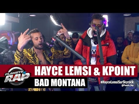 Youtube: Hayce Lemsi « Bad Montana » ft Kpoint #PlanèteRap
