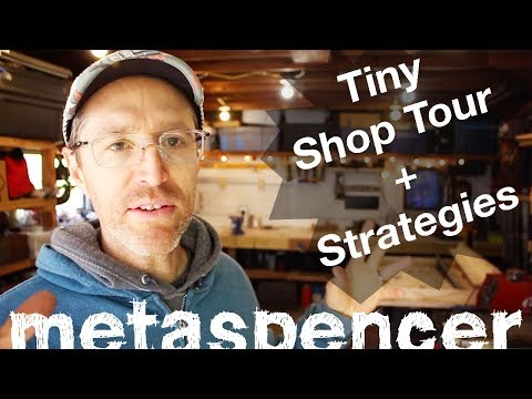 Tiny Shop Tour + 7 Strategies for Thriving in a Small Workshop