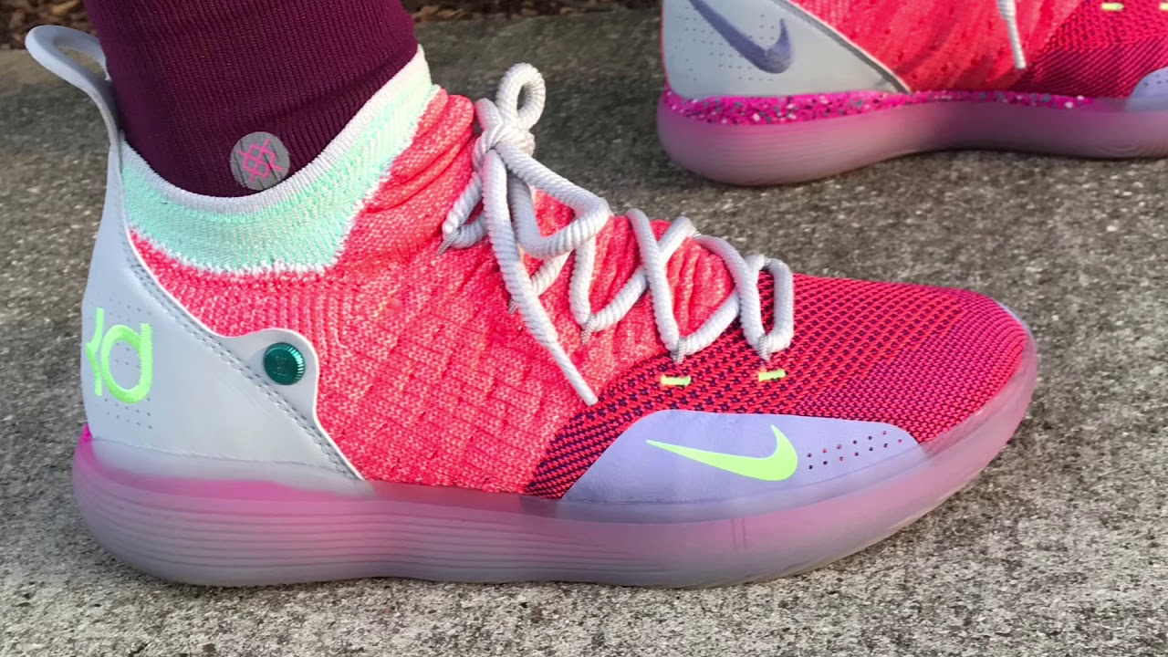 750955cdd985 Kd 11 Performance Review KD 11 EYBL On Foot And Detailed Look - YouTube