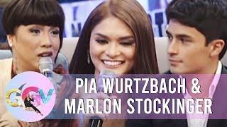 GGV: Pia admits having a crush on Marlon