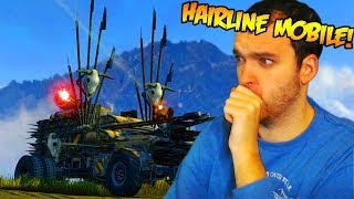 THE HAIRLINE MOBILE. (Crossout Gameplay)