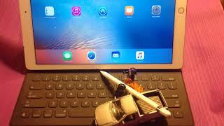 Apple Smart keyboard Lego test-drive
