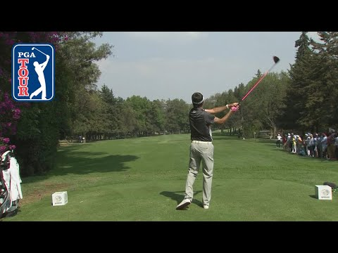 Bubba Watson's booming 372-yard drive over the trees and on the green | WGC Mexico