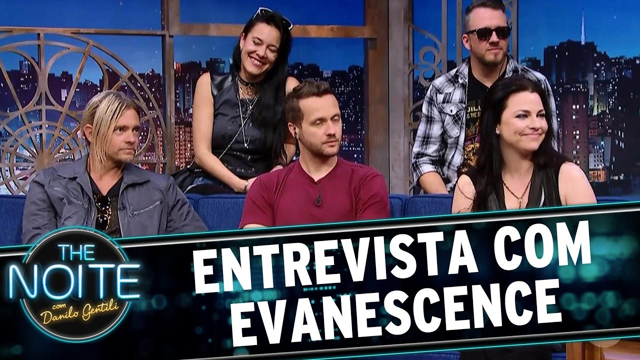 Entrevista com Evanescence | The Noite (05/05/17)
