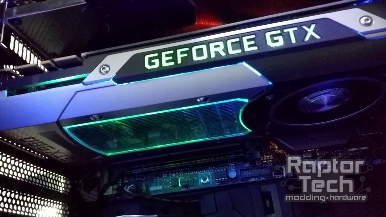 Modding Nvidia GTX 980 RGB