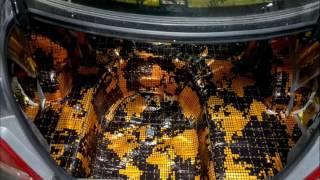 Полная шумоизоляция Hyundai Solaris Accent 2014 г.в в студии автозвука NikzAudio. смотреть