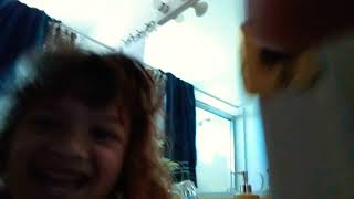 Leing to my baby sister