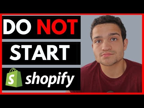 Do NOT Start a Shopify Store... Until You Watch This (Shopify Dropshipping 2020) thumbnail