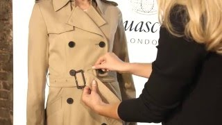 Aquascutum How To: 3 Ways to Tie a Trench Belt