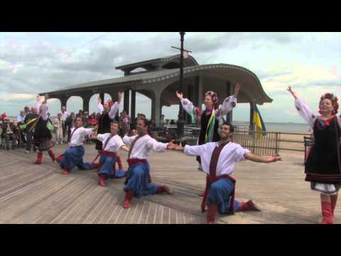 Bulgarian, Georgian, and Ukrainian Dance on the Brighton Beach Boardwalk, Saturday, June 6, 2015