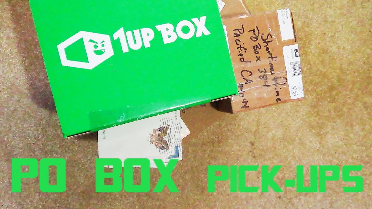 po box pick ups 9 23 15 1 up box give away youtube. Black Bedroom Furniture Sets. Home Design Ideas