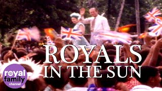 Royals in the Sun: The Queen gets tribal welcome in Papua New Guinea!