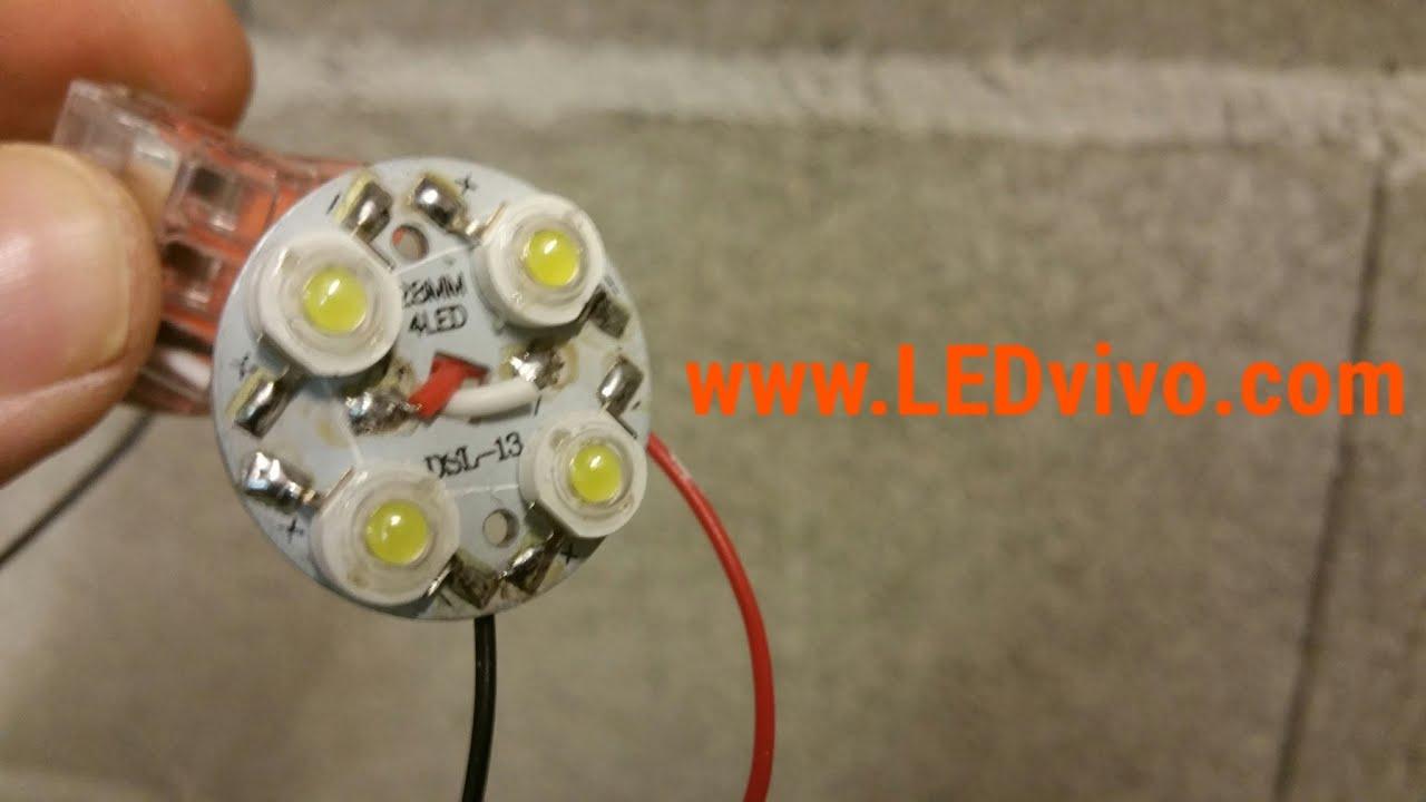 Schema Elettrico Dimmer Per Led 220v : Come collegare un potenziometro regolatore led dimmer push