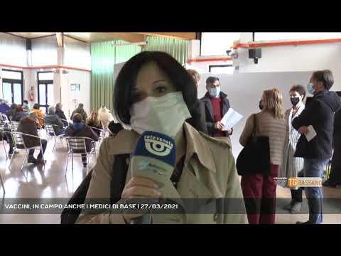 VACCINI, IN CAMPO ANCHE I MEDICI DI BASE | 27/03/2021