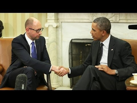 Obama Meets With Ukraine's Prime Minister