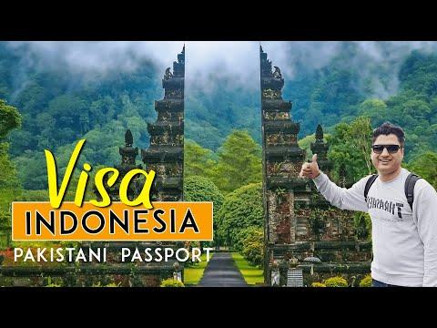 Indonesia visa for Pakistani Passport Requirements in Karachi