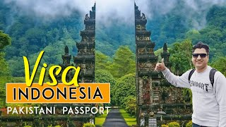 Indonesia visa for Pakistani Passport Requirements in Karachi