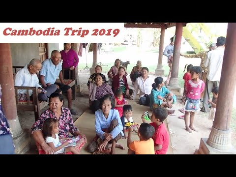 KhmerArmy's Cambodia Trip 2019 (day 3/20 my village part 1/2)