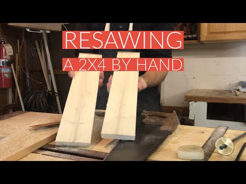 Resawing 2x4 in Real TIme