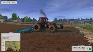 Farm Expert 17 Year 5 - Sept 8th - Getting ready to plant on the 9th - Happy 4th in real life :)