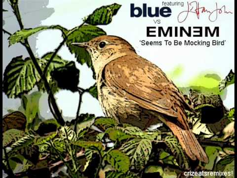 Blue Ft Elton John vs Eminem  Seems To Be Mockingbird Mash Up