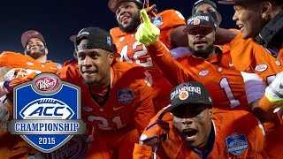 Clemson Football Talks Huge ACC Championship Victory & Watson For Heisman