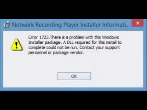 how to fix error 1723