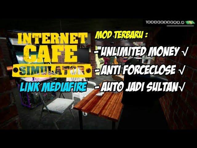 internet cafe simulator terbaru unlimited money link mediafire
