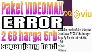Paket ERROR VIDEOMAX