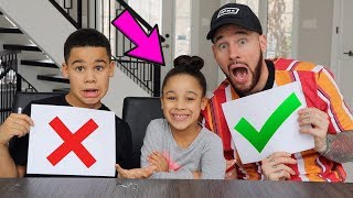 Who Knows Cali Better Challenge | FamousTubeKIDS