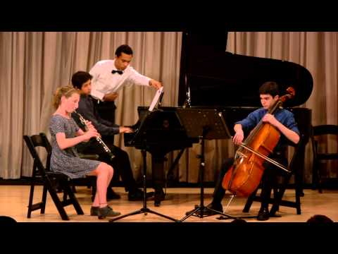 Trio for oboe, cello and piano, Op 56 #2, R. Schumann - Video CMC @ NYC