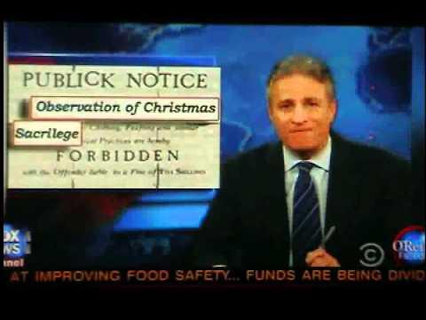 Bill O'Reilly: Jon Stewart vs. Christmas?? - YouTube