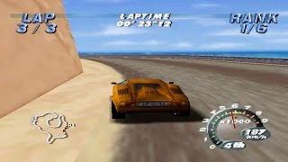 Automobili Lamborghini (Nintendo 64 Gameplay)