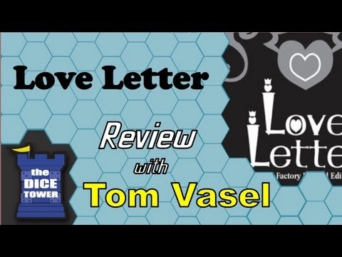 Love Letter Review - with Tom Vasel