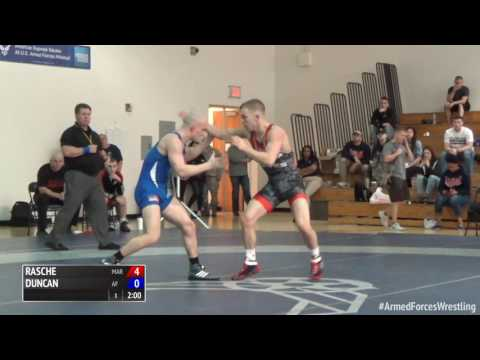 59 kg, Colton Rasche, Marines vs Randy Duncan, Air Force