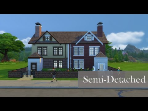 Sims 4 Speed Build #2 | Semi Detached