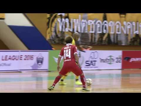 AIS Futsal Thailand League 2016 | บางกอก ซิตี้ 6-3 กรมทางหลวง 06/08/2016